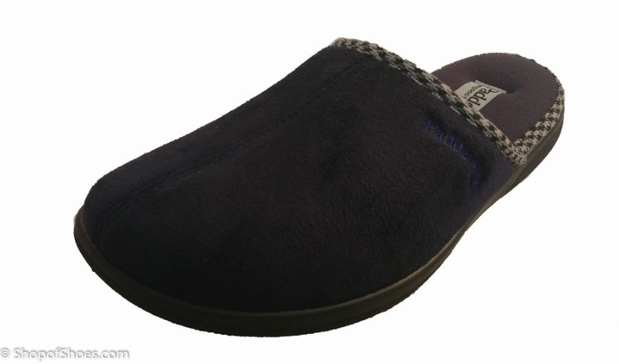 Luke padders mule slippers come with a special memory foam insole that mould to your feet for unbeatable comfort eliminating painful pressure points caused by regular footwear from Whitchurch Hampshire near Basingstoke, Winchester, Newbury Berkshire and Andover Hampshire